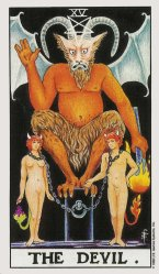 The DEVIL Tarot - Card of the Month