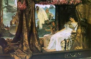 Sir Lawrence Alma-Tadema - Antony and Cleopatra